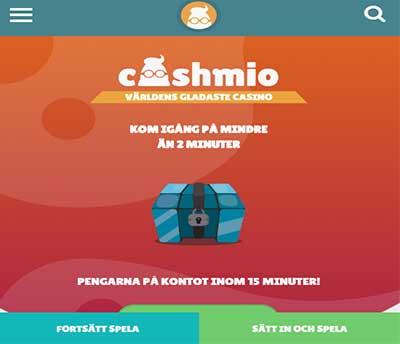 Cashmio Skarmbild